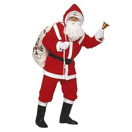 Vestito Babbo Natale Taglia 60.Widmann 1535d Natale Vestito Babbo Natale Lusso Taglia Unica