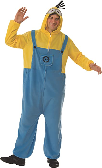 19c6ff6d7f2d Amazon.com  Rubie s Men s Despicable Me 3 Minion Adult Costume ...