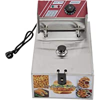 Andrew James Deep Fryer 6 Liters Silver