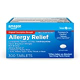 Amazon Basic Care Allergy Relief Loratadine Tablets 10 mg, 300 Count