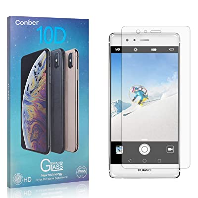 Conber Screen Protector for Huawei P9 Plus, (1 Pack) 9H Tempered Glass Film Screen Protector for Huawei P9 Plus [Shatterproof][Scratch-Resistant]: Baby