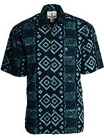 Artisan Outfitters Mens Big Island Batik Cotton Shirt