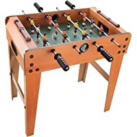 GetBest 6 Rods Foosball Table Game-Portable Mini Football Soccer Game for Kids, 48cm