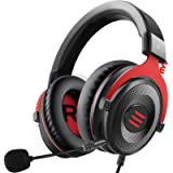 EKSA PS4 Gaming Headset - Xbox Headset Wired Headphones with Detachable Noise Canceling Mic Stereo Sound, Gaming…
