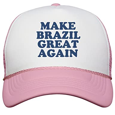 90cb1e08eb1 Make Brazil Great Again Hat OTTO Poly-Foam Snapback Trucker Hat ...