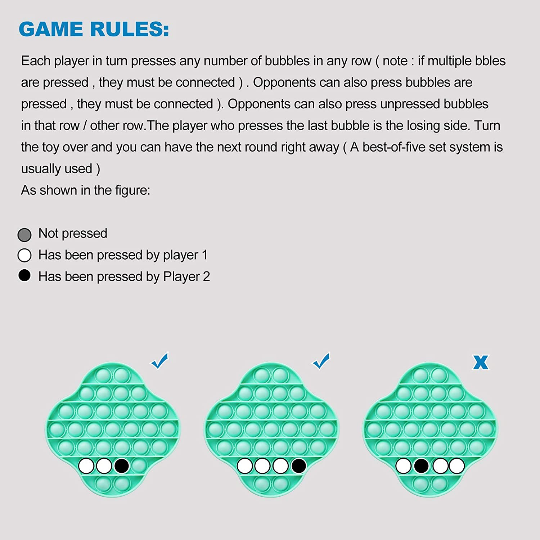 Pop Bubble Fidget Sensory Toys Four-Leaf Llover, Bear Paw, Ladybug Shape Pink 3 PCS Push Bubble Special Pop Sensory Toys Stress Relief Squeeze Push Bubble Educational Toys for Kids Adults