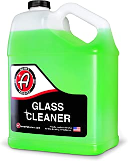 product image for Adam's Glass Cleaner (Gallon) - Car Window Cleaner | Car Wash All-Natural Streak Free Formula For Car Cleaning | Safe On Tinted & Non-Tinted Glass | Won't Strip Car Wax or Paint Protection