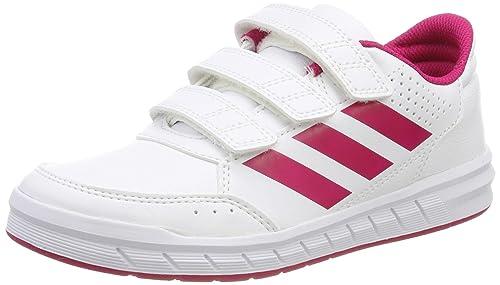 hot sale online fa044 3878a adidas Altasport CF K, Scarpe Sportive Indoor Unisex - Bambini, Bianco  (Ftwr White