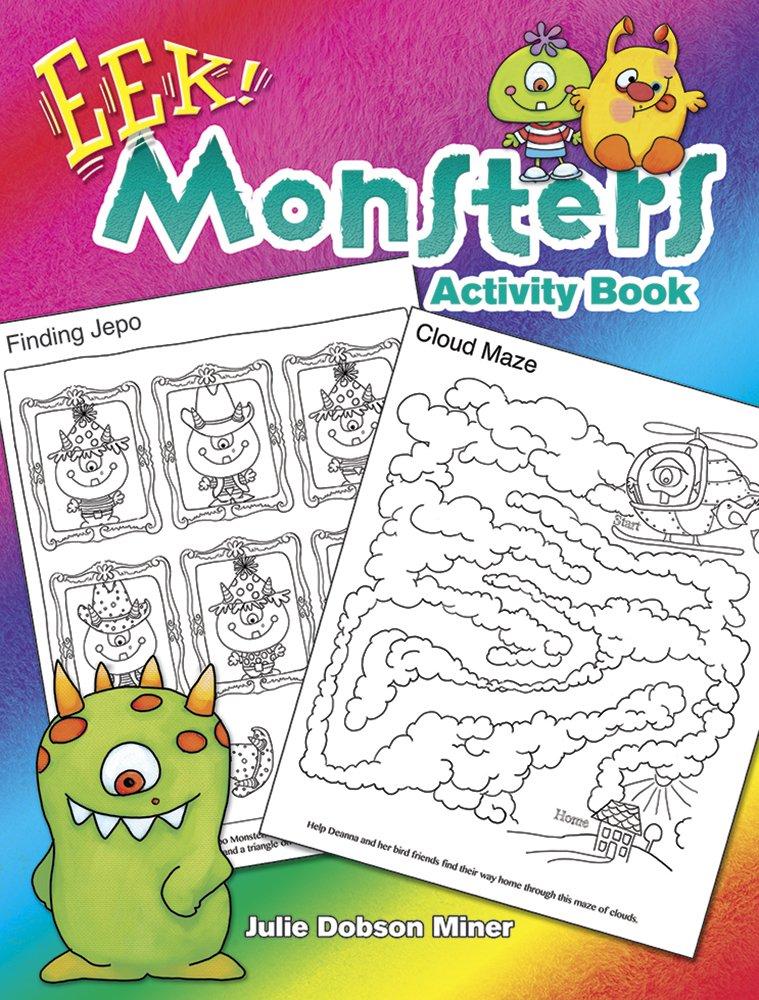 Download EEK! Monsters Activity Book (Dover Children's Activity Books) ebook