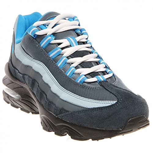 innovative design 05d53 5497d Nike Air Max 95 (GS) Boys Running Shoes 307565-402 Armory Navy 6.5