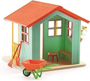 DJECO Dollhouse Garden Playset