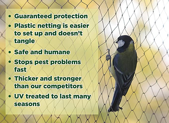 Heavy Duty pájaros - proteger jardín plantas y árboles frutales ...