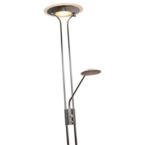 LED Lámpara de pie Aras (Moderno) en Plateado hecho de ...