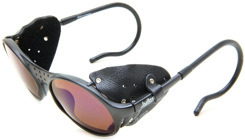 Julbo Sherpa occhiali da sole - telaio nero con categoria Spectron 3 lenti - protezioni laterali in ...