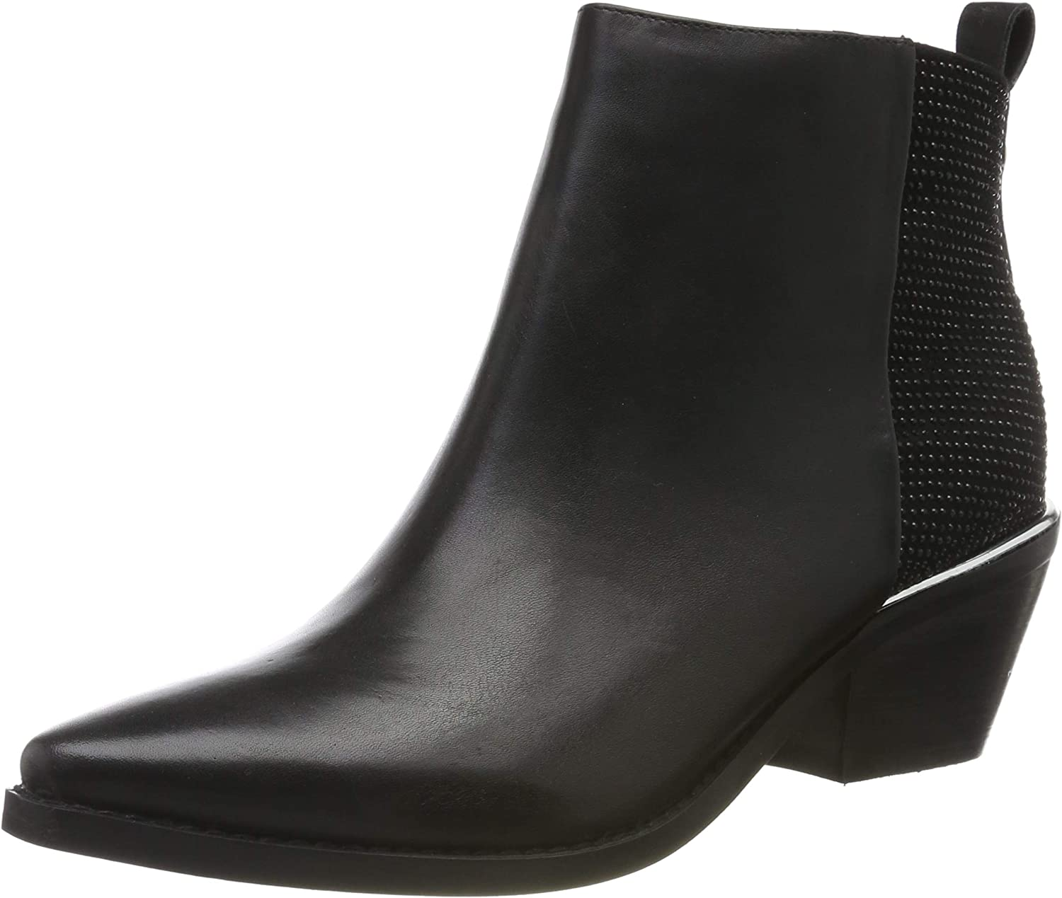 Guess Nishe/Stivaletto (Bootie)/Leat, Botines para Mujer