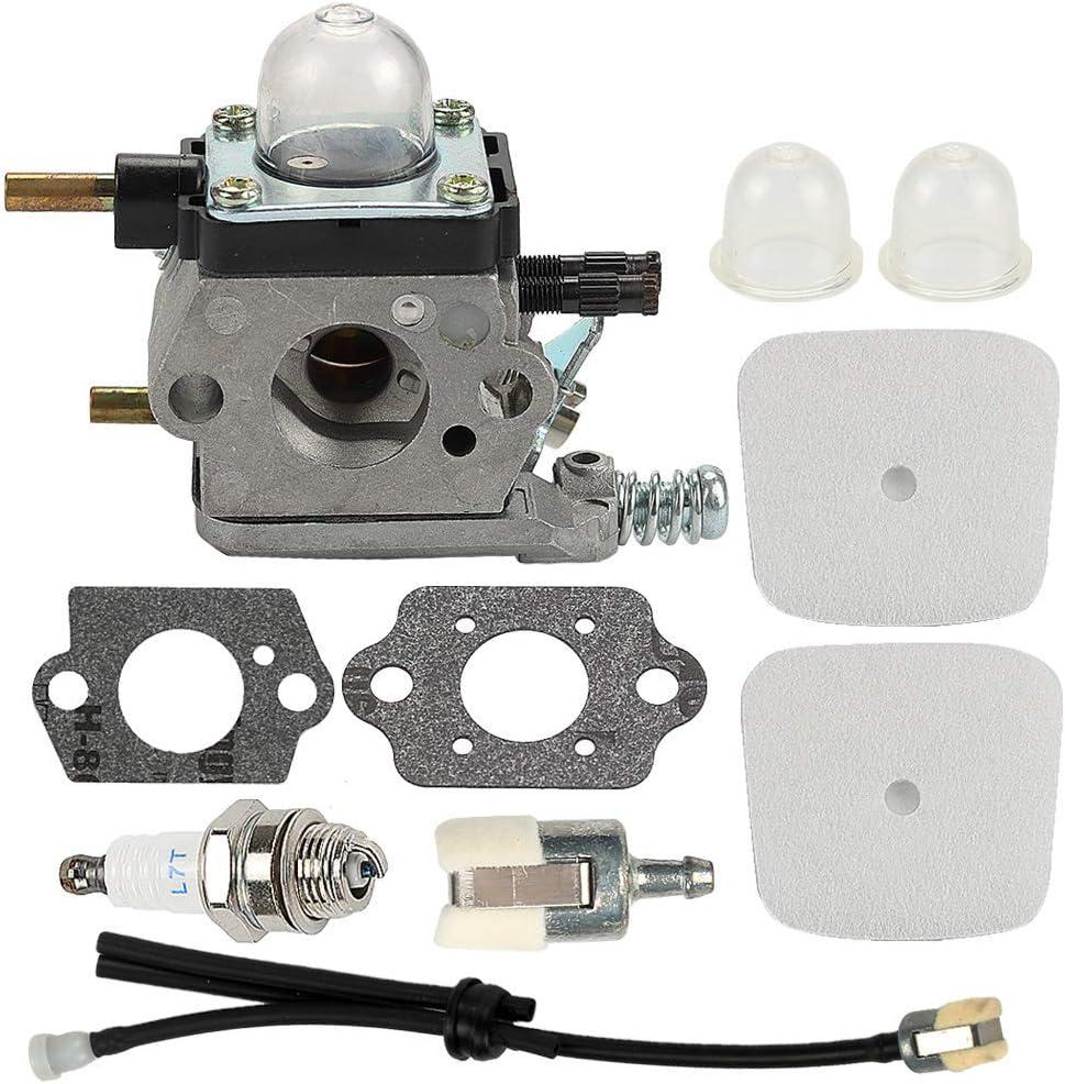 Moligh doll Vergaser mit Luftfilter-Repower-Kit f/ür 2-Takt-Mantis 7222 7222E 7222M 7225 7230 7234 7240 7920 7924 Pinne//Grubber