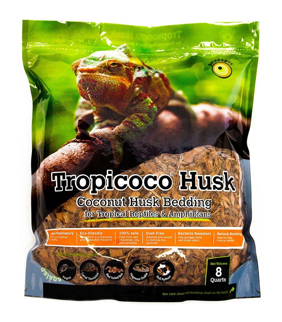 Galapagos (05014) Tropicoco Coconut Husk Bedding, 8-Quart, Natural 7 59834 05014 8