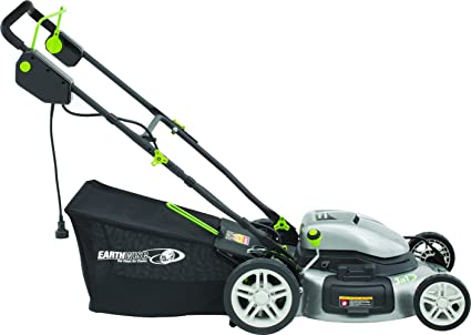 Earthwise Side Discharge Mulching/Bagging Electric Lawn Mower