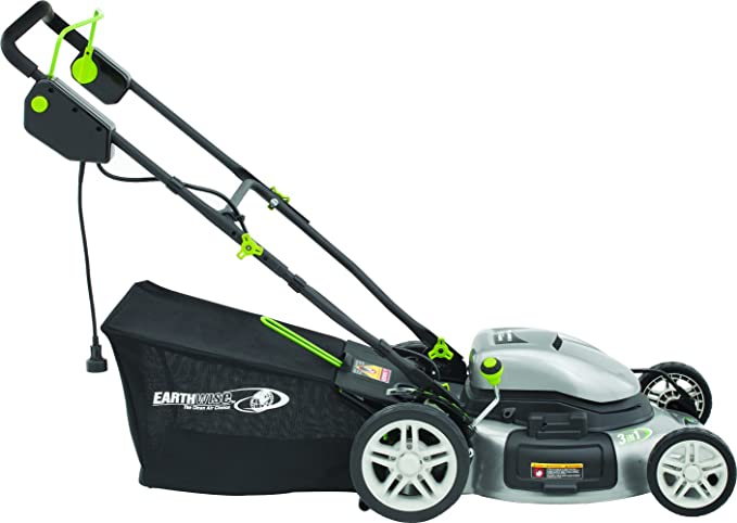 Earthwise 50520 Corded Electric Lawn Mower - Best for Cutting Width