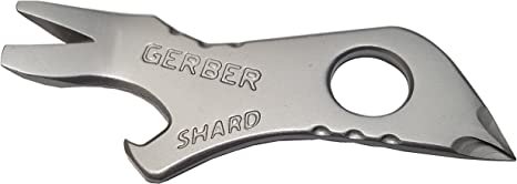 7 TOOLS IN 1 FAST /& FREE P/&P GERBER SHARD KEY CHAIN TOOL AIRLINE FRIENDLY