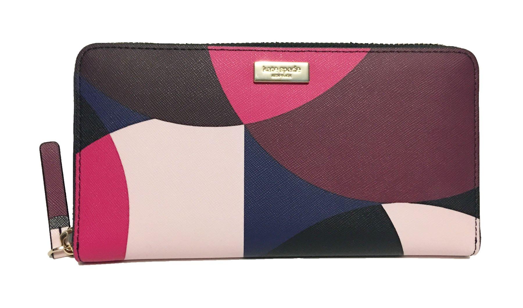 Kate Spade Newbury Lane Neda Leather Wallet (Pinkmulti)
