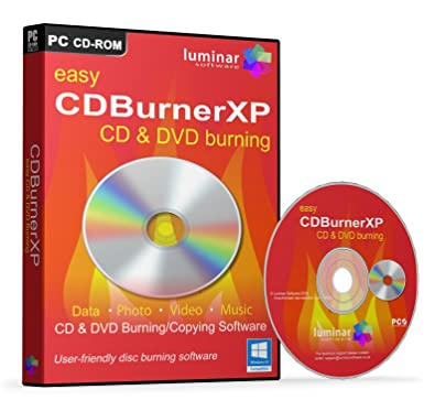 CDBurnerXP - Easy CD & DVD Burning/Copying Software (PC) - BOXED AS SHOWN