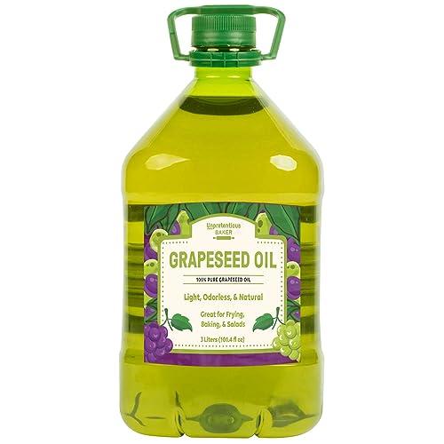 Grape Seed Oil by Unpretentious Baker