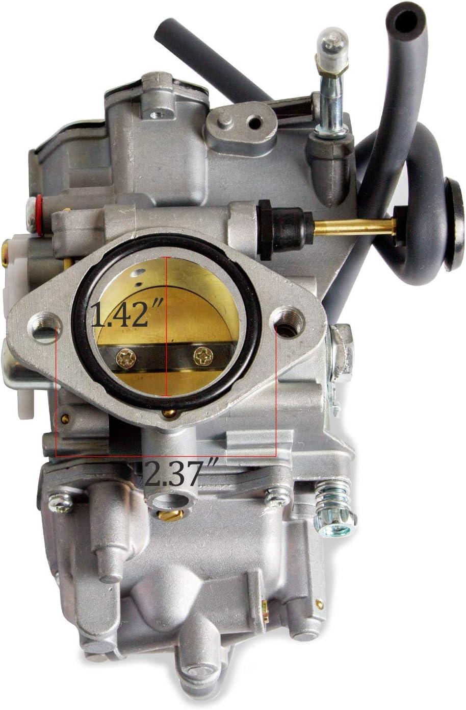 1996-1998 Kodiak 400 YFM400 Complete Carburetor With Intake Manifold For YAMAHA1987-1990/&1992-1995 Moto-4 350 YFM350 1987-2004 Warrior 350 1995 Wolverine 350 YFM35F 1987-1998 Big Bear 350