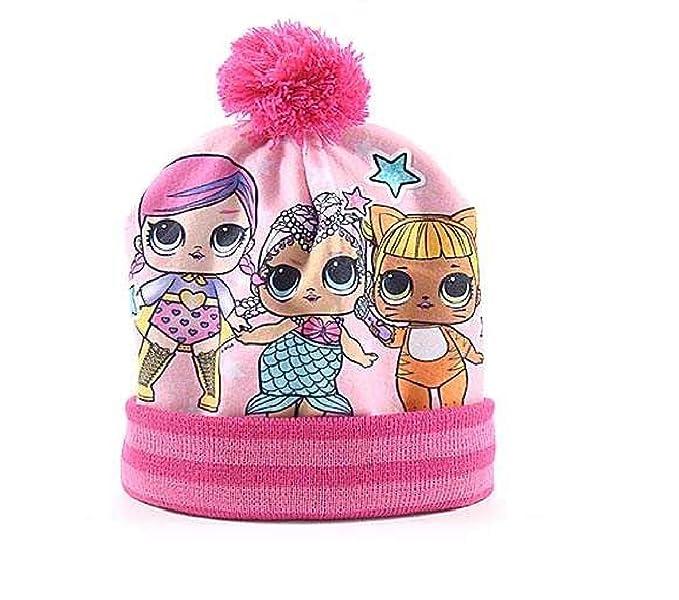 LOL Surprise Cappello PON PON Cappellino Invernale Acrilico Bambina ... e24a8b291ce