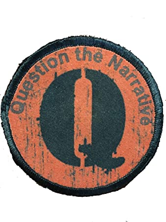 Wwg1wga Q Army 2 5 Qanon Military Morale Tactical Badge The Punisher Trust The Plan Q Anon Qanon Trump Iron On 100 Embroidered Embroidery Patch Patches Mixed Media