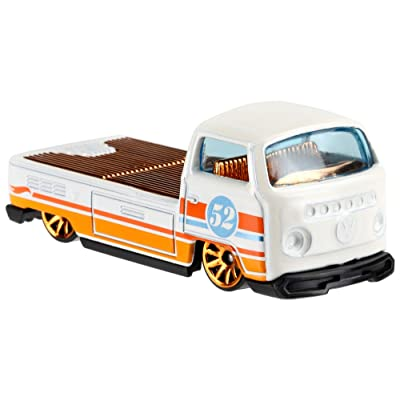Hot Wheels 2020 Pearl and Chrome 6/6 - Volkswagen T2 Pickup (White): Toys & Games