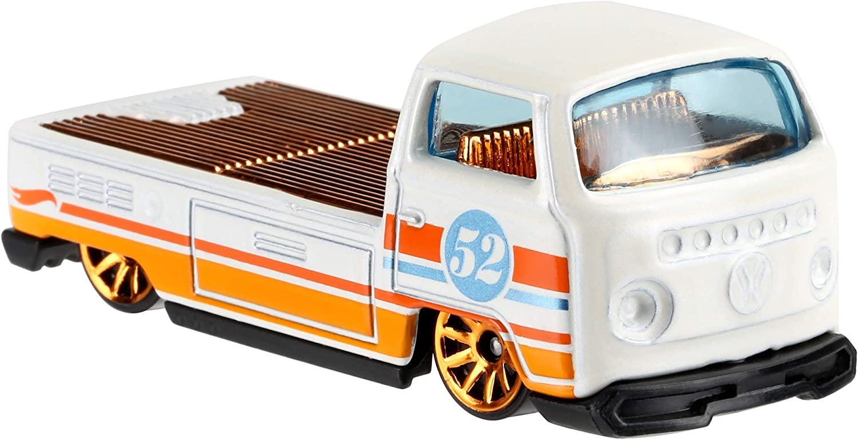 2020 Hot Wheels 52nd Anniversary Pearl /& Chrome Series Volkswagen T2 Pickup