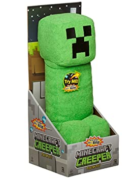 Mojang Official Minecraft Creeper Plush with Sound by Jinx, 14 Large by JINX