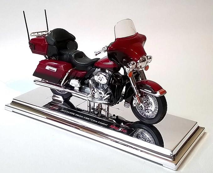 metallic-rot Modell 1:12 Harley Davidson FLHTK Electra Glide Ultra Limited