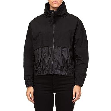 b7901e6d Kenzo Women's F862BL08059099 Black Polyamide Outerwear Jacket ...