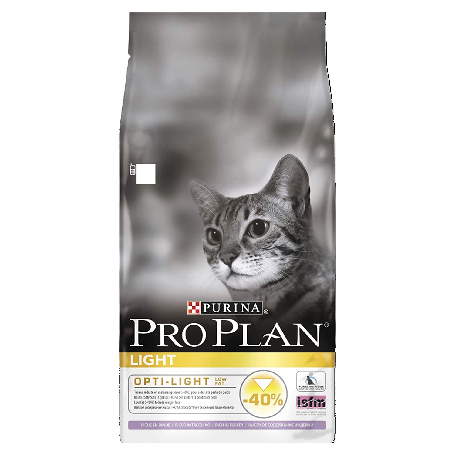 PRO PLAN Light - Riche en Dinde - 10 KG - Croquettes pour chat adulte Nestle ProPlan 1425