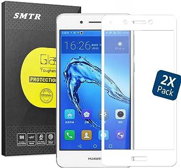2 Pack] Huawei Nova Smart Protector de Pantalla Cristal, SMTR ...