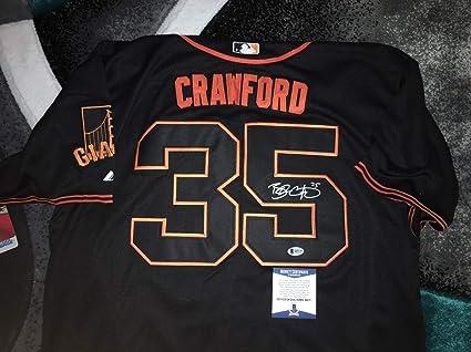 newest 2af5a 1f903 Brandon Crawford Autographed Signed Memorabilia San ...
