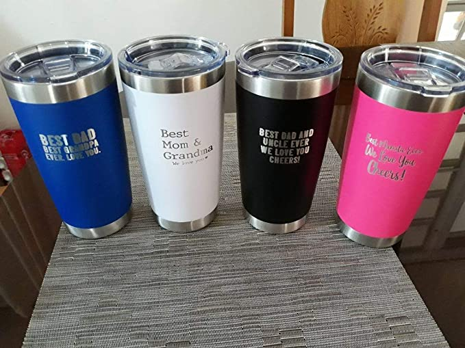 20oz or stemless wine Personalized Tumbler Anyday behind bars is better than a day at work Tumbler Gift for Motorcylist 30oz Engraved Travel Mug Laser Engraved-Tumbler cup Dad Gift