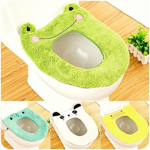 per bagno morbido GerFogoo Coprisedile per WC colore: viola pi/ù spesso elasticizzati caldo lavabile