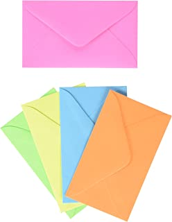 Enclosure Card 63 Everyday Asst Colors Envelopes 2 1 X 4