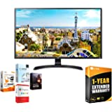 LG 32UD59-B 32-inch 3840x2160 Ultra HD 4k LED Monitor with FreeSync Bundle with Elite Suite 18 Standard Editing Software…