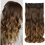 Neverland Clip in Hair Extensions Ombre haar extensions Haarverlängerungen Dip Dye (F)