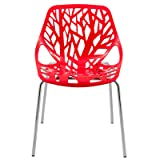 LeisureMod Forest Modern Dining Chair with