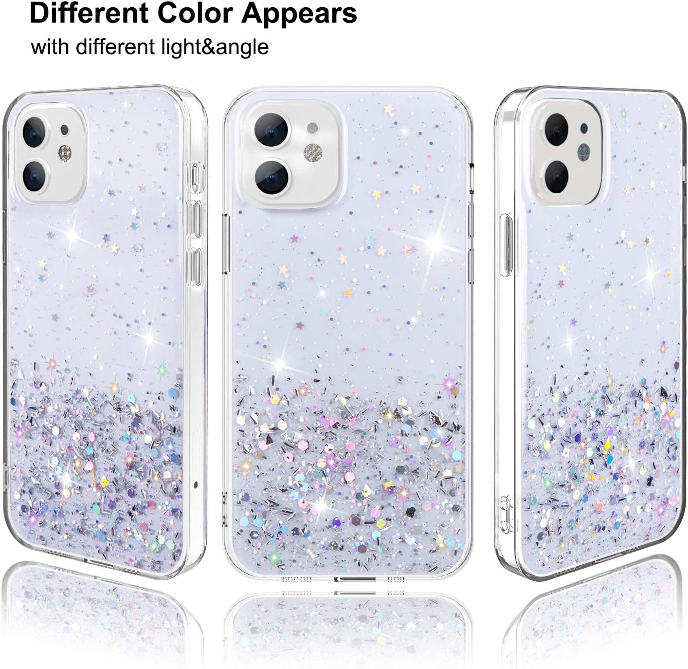 Amazon Promo Code for Crystal Glitter Case for iPhone 12 Case