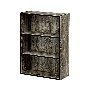 info for a4aac 3a585 Amazon.com: EFD 3 Tier Wooden Shelf Storage Sleek Dark Grey ...