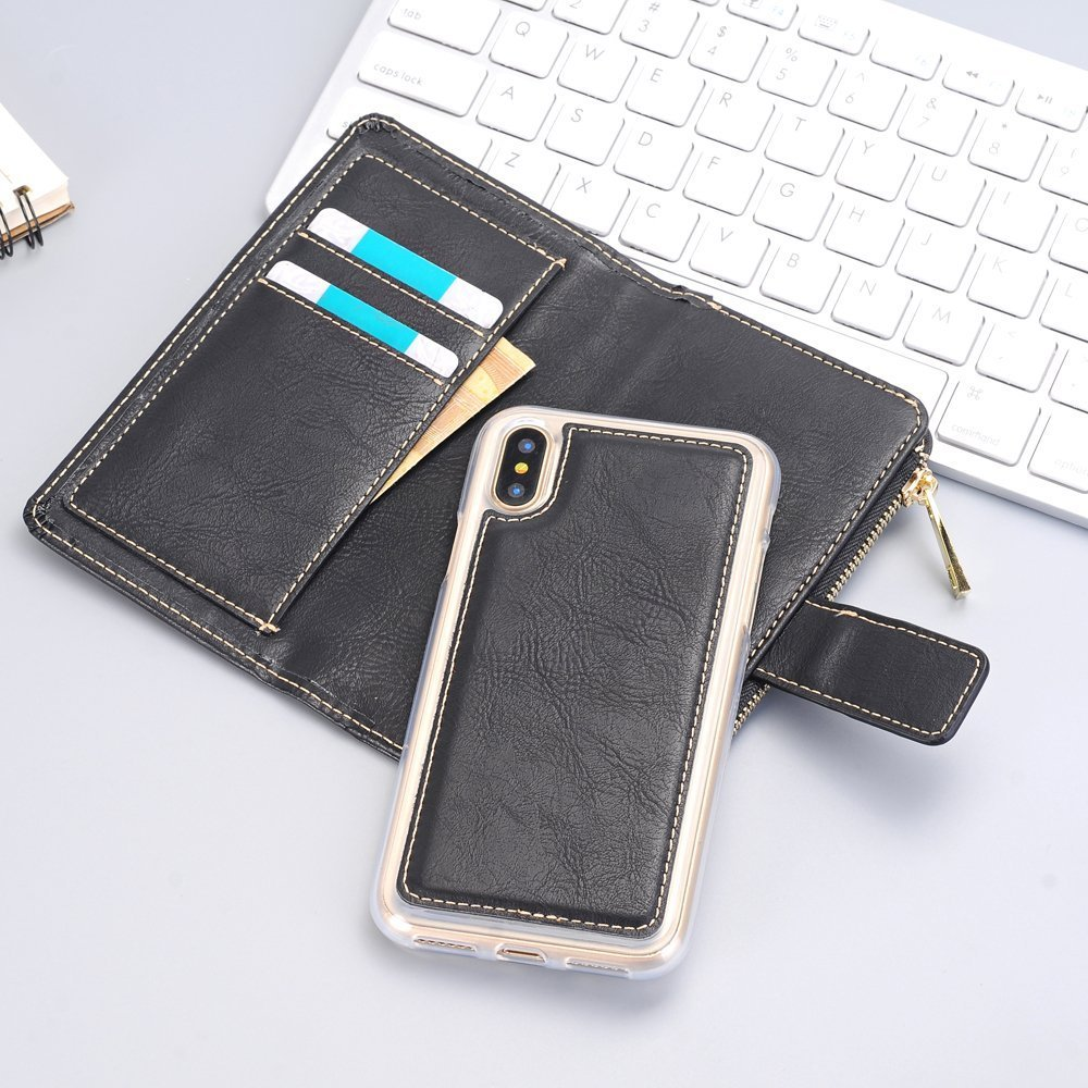 4.7 inch Case,iPhone 6s Cover,Wallet Case Removable Full 360 Protection Flip Folio with ID&Credit Card Pockets [Ultra Slim] Lightweight Case for iPhone 6 / 6s 4.7 inch