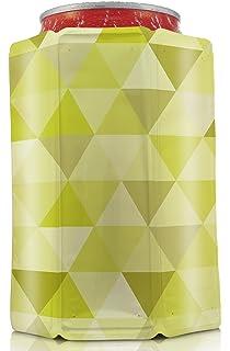 Vacu Vin 38836606-Enfriador, 0.33 l, diseño Diamantes Enfriador Activo para latas y