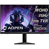 """AOPEN 27ML1U bmiipx 27"""" IPS WQHD (2560 x 1440) Monitor con tecnología AMD Radeon FreeSync (Puerto de visualización y 2 Puertos HDMI 2.0)"""