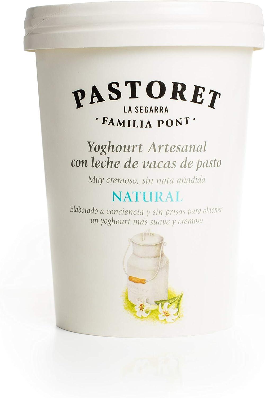 Pastoret Yogur Artesanal Natural, 500g (Refrigerado)